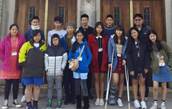 homestay 2015 group photo