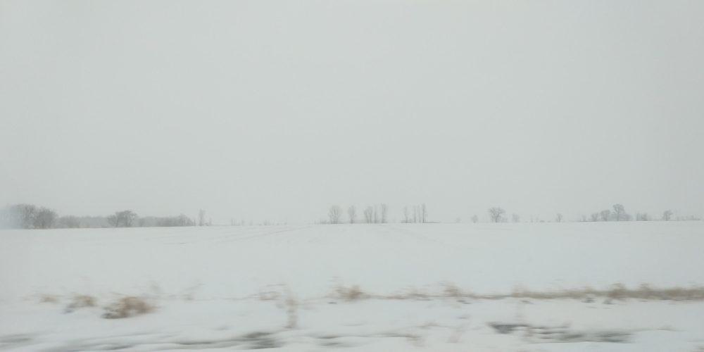April 11, 2019 Snow storm, Flight cancel